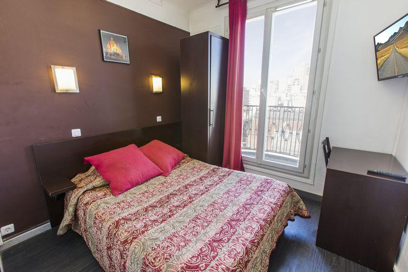 Chambre Double Hôtel **paris 20 ème Hipotel Printania Maraîchers
